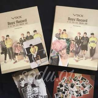 [WTS] Preloved Items - Vixx Boys' Record Album