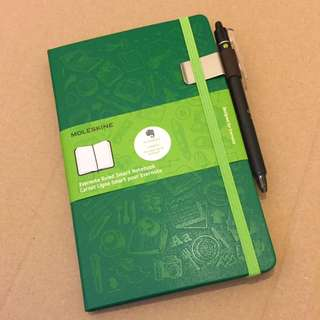 Moleskine Evernote Smart Notebook + Pilot Pen