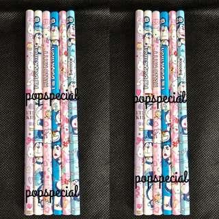 Doraemon Hello Kitty 2B Pencils