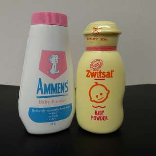 Ammens & Zwitsal Baby Powder [NEW]