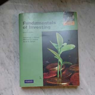 Fundamentals of Investing (Pearson) #15Off