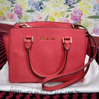 Michael Kors Selma Medium (watermelon)