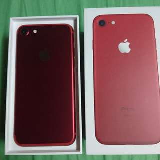 95%New Iphone 7Red(128gb)