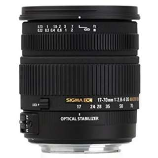 Sigma 17-70mm F2.8-4 DC Macro OS (Nikon DX)