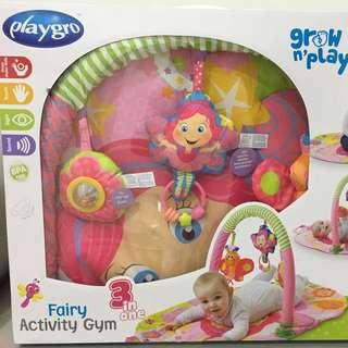 Playgro 3 in 1 fairy activity gym (matras bayi)