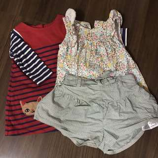 Babygirl Clothing Set