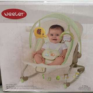 Weeler cradling rocker (bouncer)