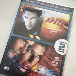 Double DVD collection - Speed 1 and Speed 2