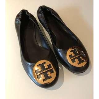 Tory Burch Ballerina Flats (Gold)