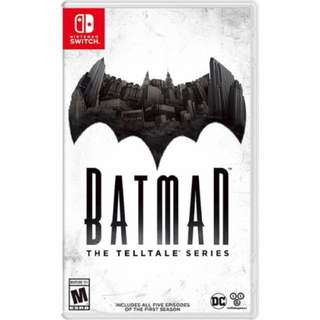 Nintendo Switch: Batman The Telltale Series