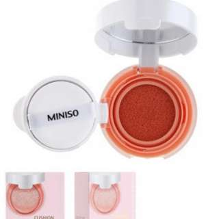 Miniso Cushion Blush (Coral) *SEALED*