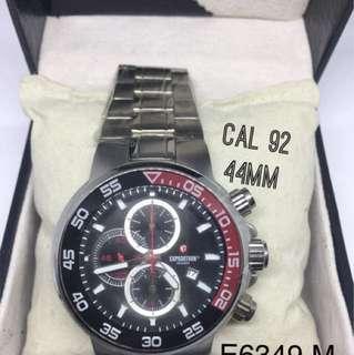 Jam  Tangan Pria Original EXPEDITION E6349M CaL92diameter 44mm