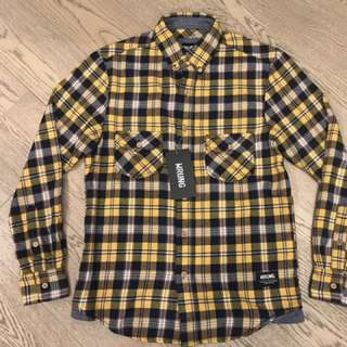 Wrung flannel shirt size XS brand new with tag