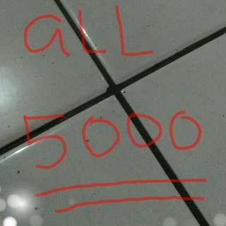 Semua Serba 5000 Rupiah  Semua Baju Yg Saya Upload Seharga 5000 Ajahh Ditunggu Yah