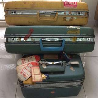 Vintage Samsonite Suitcases