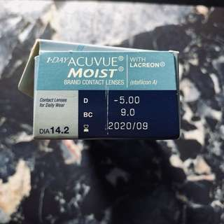 1-Day Acuvue Moist (25pieces)
