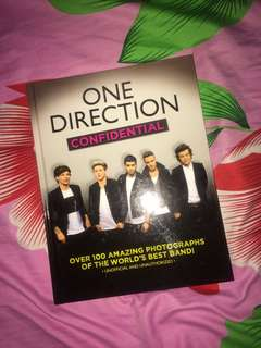 One Direction Confidential by Malcolm Croft (2014, Hardcover)