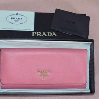 Authentic Prada Wallet/REPRICED