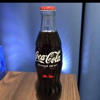 Vintage coke glass bottle