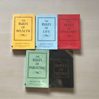 The Rules of Life Series by Richard Templar