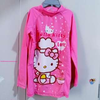 Hello Kitty rashguad set