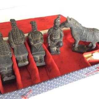 Terra Cotta Warriors Statues