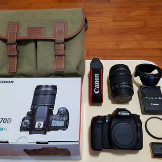 Canon EOS 70D - (EF-S 18-135 IS STM) Kit