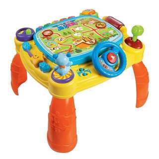 Vtech idiscover learning activity table
