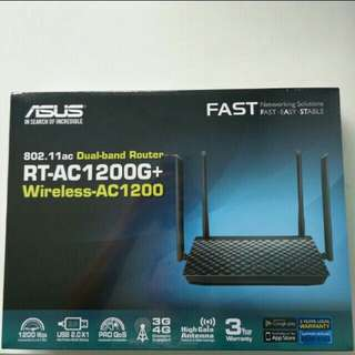 Brand New Router ASUS RT-AC1200G+