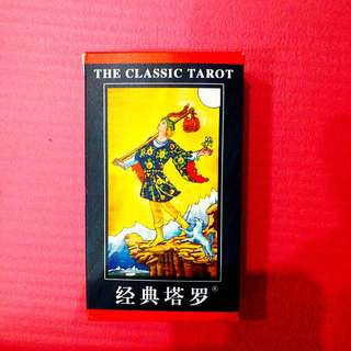 Classic Rider-Waite Smith Tarot (With .PDF version of official English guidebook)