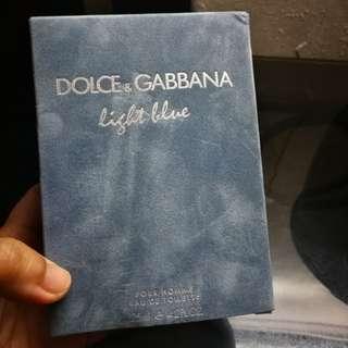 Original Dolce & Gabanna Used Perfume for Men