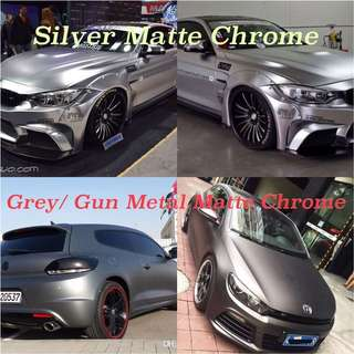 Wholesale Matte Chrome Vinyl