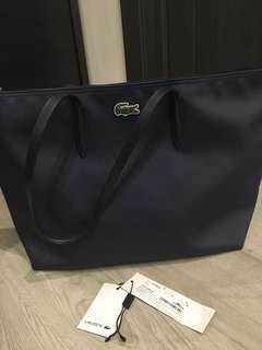 Lacoste Navy Shopper