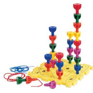 Brand new - Learning Resources Rainbow Peg Play