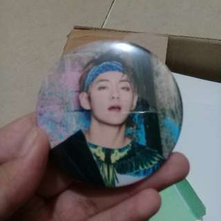 BTS V Magnet Badge