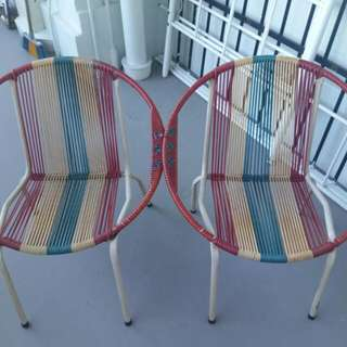 Retro Spring Chairs