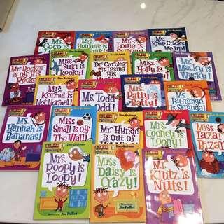My Weird School (21 books)