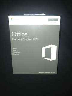 Mac Microsoft Office Home & Student 2016