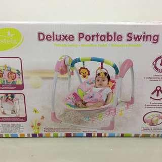 Mastela deluxe portable swing