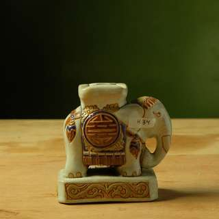 Gajah bahan Keramik (H.34)