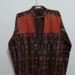 Blazer Batik motif bali
