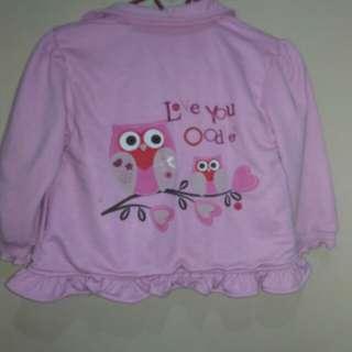 Sweater pink owl oioiniiko