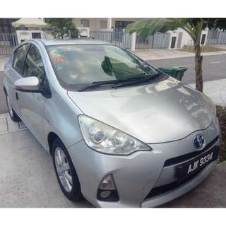 TOYOTA PRIUS C YEAR 2013 FOR SALE