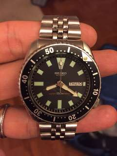 Classic Seiko Dive Watch