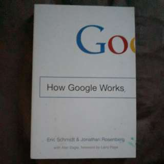 How Google Works (foreword by Larry Page)