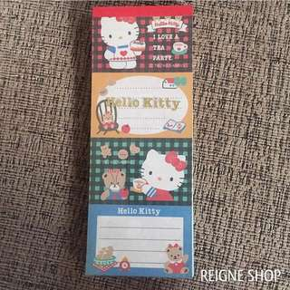 HELLO KITTY VINTAGE MEMO PAD