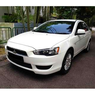 Cheapest Mitsubishi Lancer for car rental / leasing for Uber / Grab / Personal