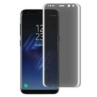 Samsung Galaxy S8/S8 plus full cover PRIVACY anti-spy Tempered glass