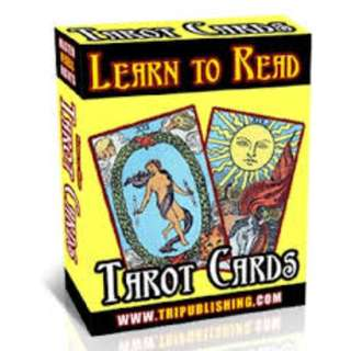 Learn to Read Tarot Cards (210 Page Full Colored Mega eBook)