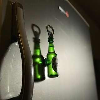 Bottle Opener/Refrigerator Magnet